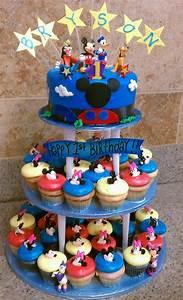 Mickey, Mouse, Cake, U2013, Decoration, Ideas