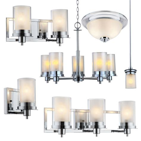 Ceiling Light Fixtures For Bathrooms by Avalon Polished Chrome Bathroom Vanity Ceiling Lights