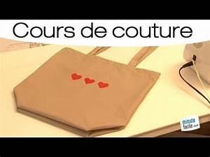 Comment Faire Un Sac : couture faire un sac courses youtube ~ Melissatoandfro.com Idées de Décoration