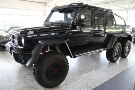 mercedes 6 wheel pickup mercedes benz g63 amg 6x6 for sale in florida 975 000