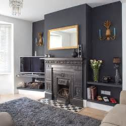 kitchen feature wall paint ideas traditional living room with grey painted feature wall 20 ways with paint housetohome co uk