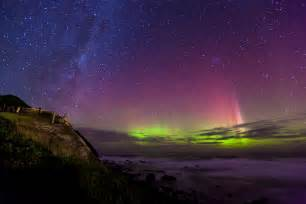 aurora australis in new zealand living in another language