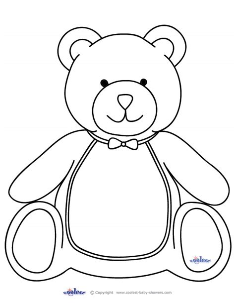 Panda Baby Shower Invitations by Cute Bear Coloring Pages Getcoloringpages Com