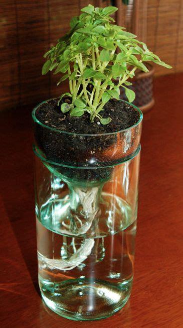 pin  robin miller  garden ideas glass bottle crafts
