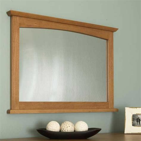 shaker style dresser mirror woodworking plan  wood