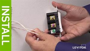 Leviton Presents  How To Install A Decora Digital Switch