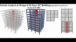 Seismic Analysis  U0026 Design Of 10 Story Rc Building Using