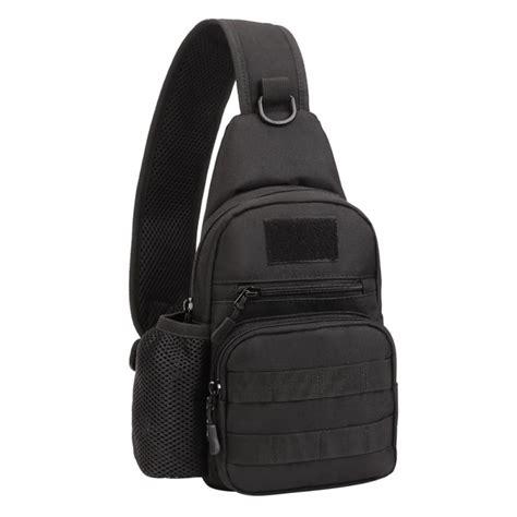 tas tactical assault shoulder bag tactical messenger backpack molle sling chest bag