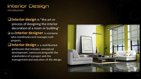 elements of interior design slideshare elements of interior design