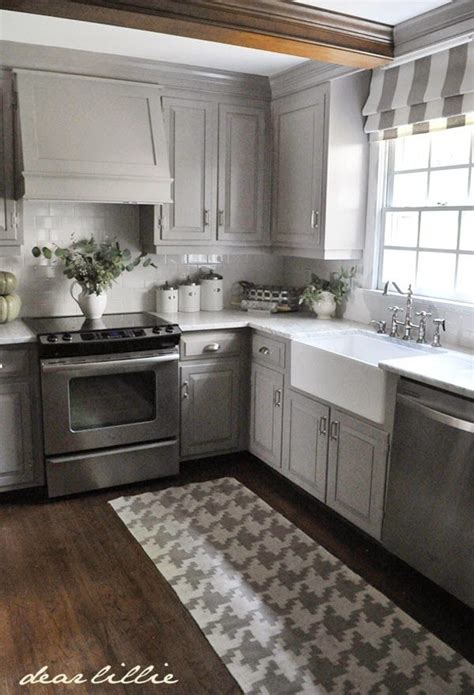 kitchen without wall tiles darker gray cabinets and our marble review decor10 6567