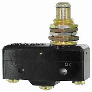 Honeywell Micro Switch 25a   480v Overtravel  Plunger