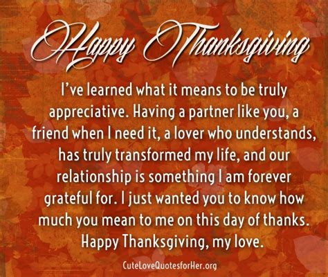 thanksgiving love quotes     sayings