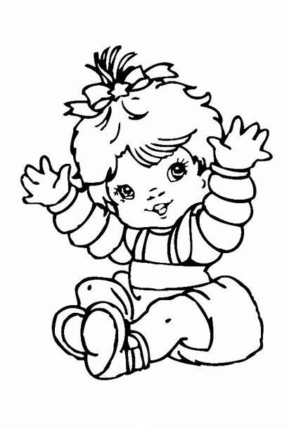 Coloring Pages Babies Printable Corgi Books Clipart