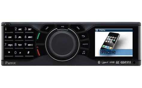 iphone car radio parrot rki8400 iphone car stereo now available autoevolution