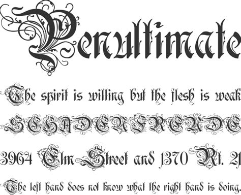 font decor rothenburg decorative font family