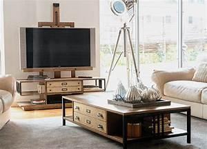 Meuble Tv Original : meuble tv chevalet manufacture vazard ~ Teatrodelosmanantiales.com Idées de Décoration