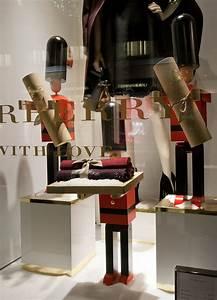 Retail Design Blog — Burberry Windows 2015 Winter, Vienna ...