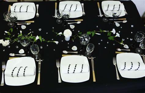 Table En Noir Et Blanc  Tables Et Déco D'estelle