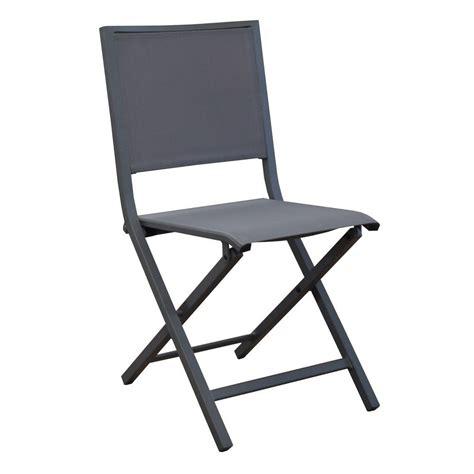 chaise pliante aluminium textilene chaise pliante florence aluminium textilène gris gamm vert
