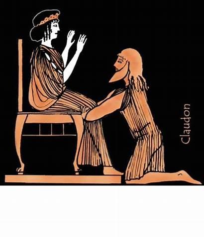 Alcinous King Odyssey Odysseus Novel Graphic Arete