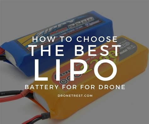 lipo batteries how to choose the best battery for your drone guides dronetrest