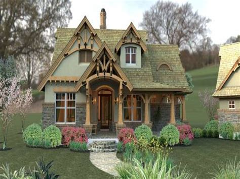 Small Craftsman Cottage House Plans Small Cottages And