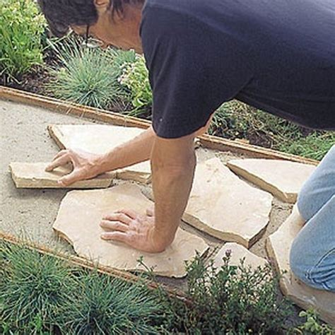 how to install flagstone how to install a flagstone path