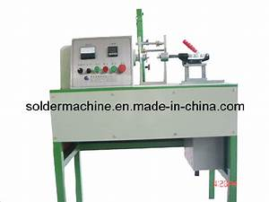 China Manual Type Solder Wire Coil Winding Machine  Vt