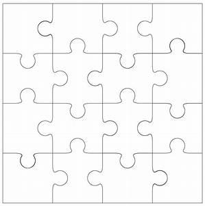16 piece Jigsaw cut file & template