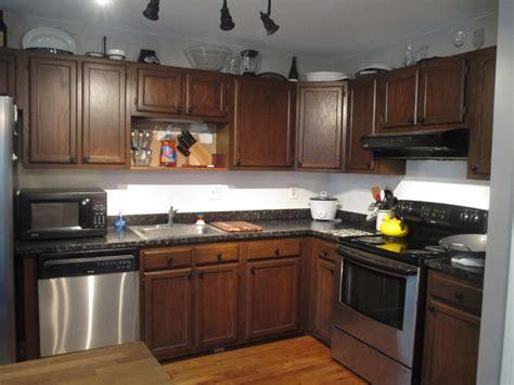 Refinishing Oak Kitchen Cabinets With Gel Stain Aria Kitchen