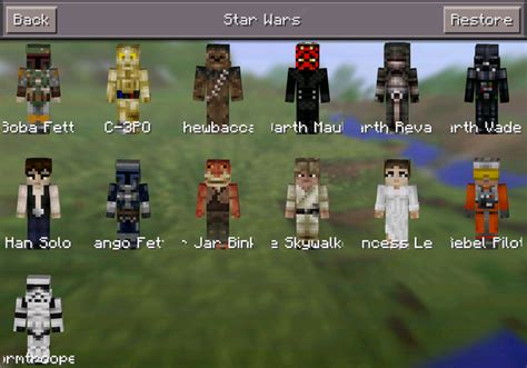 skin packs mod minecraft pe mods addons