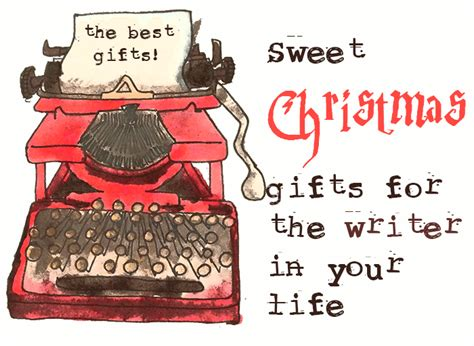 sweet christmas gifts for the writer in your life