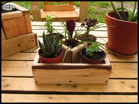 Small Succulent Planters Made Out Of Pallet Wood ? 1001