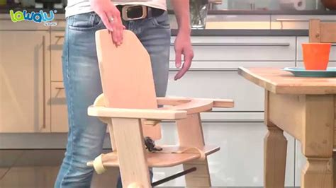 Chaise Evolutive Geuther by Chaise Haute B 233 B 233 De Lawalu Par Geuther Youtube