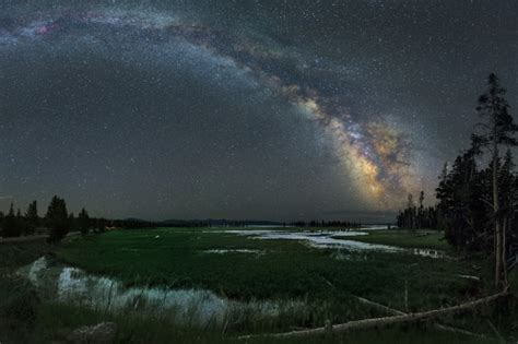Americas Great Outdoors The Milky Way Glitters Above
