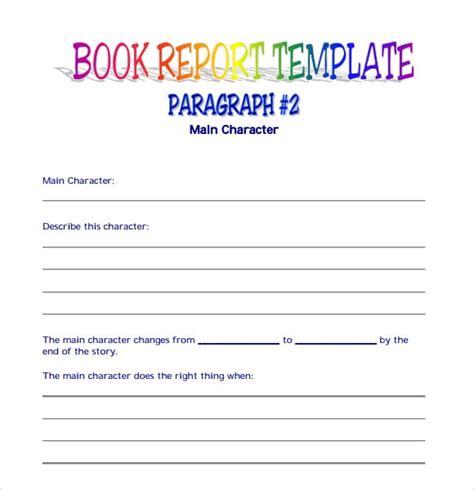 book report templates excel  formats