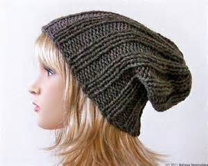 Slouchy Beanie Hat Pattern