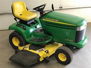 John Deere Lx288 Lawn Tractor Maintenance Guide  U0026 Parts List