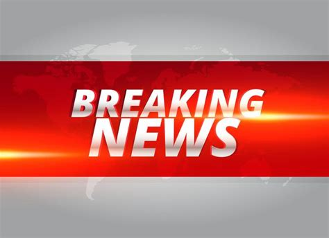 breaking news template breaking news concept design template for news channels free vector stock