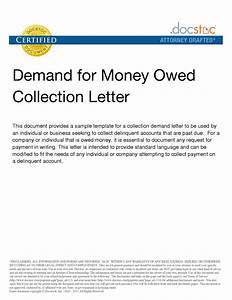 Best photos of template for demand letter collection for Example of demand letter for money owed