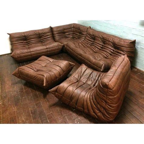 canape togo ligne roset sofa set togo michel ducaroy ligne roset brown leather