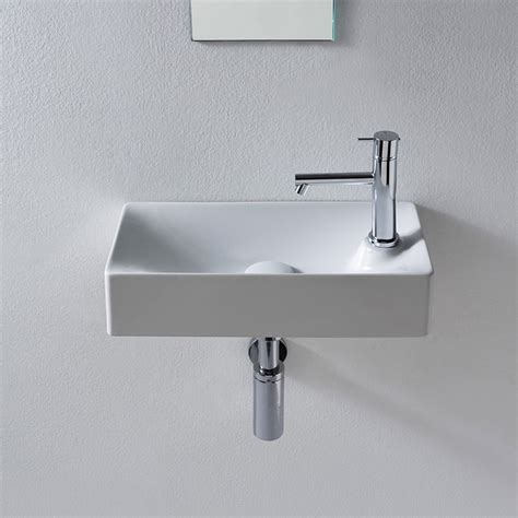 Small Wall Mounted Bathroom Sink by Scarabeo 1501 By Nameek S Soft Small Ceramic Wall Mounted