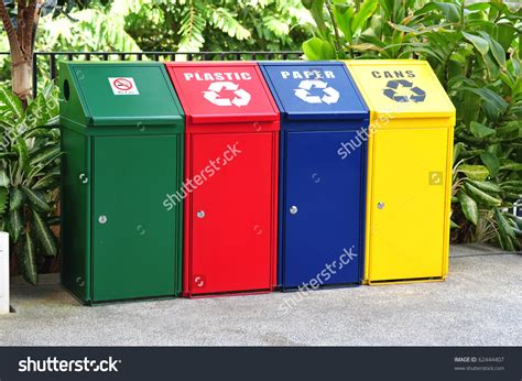 organizer recommended recycle containers  trash