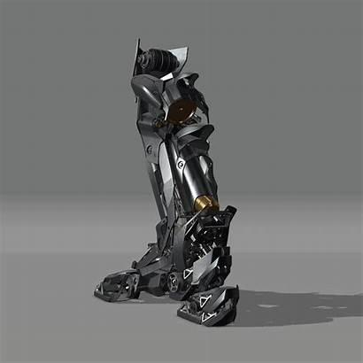 Leg Legs Mechanical Artstation Character Robot Lavanant