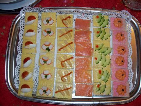 canapé buffet froid canapés froids la cuisine de joël