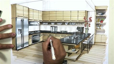 kitchen sketch  markers youtube