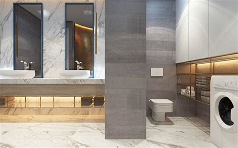 3 Modern Homes In Many Shades Of Gray by Gray Bathroom Design Ideas Interior Design Ideas
