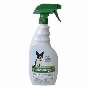 advantage advantage flea tick treatment spray for dogs