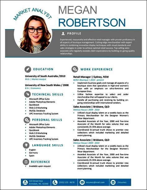 Modern Resume Formats Free by Free Modern Resume Templates For Word Free Sles