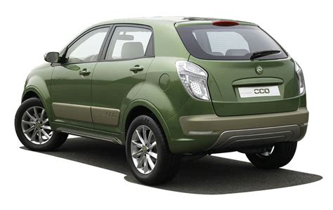 SsangYong C200 Aero and Eco Concepts Get Real in Seoul ...